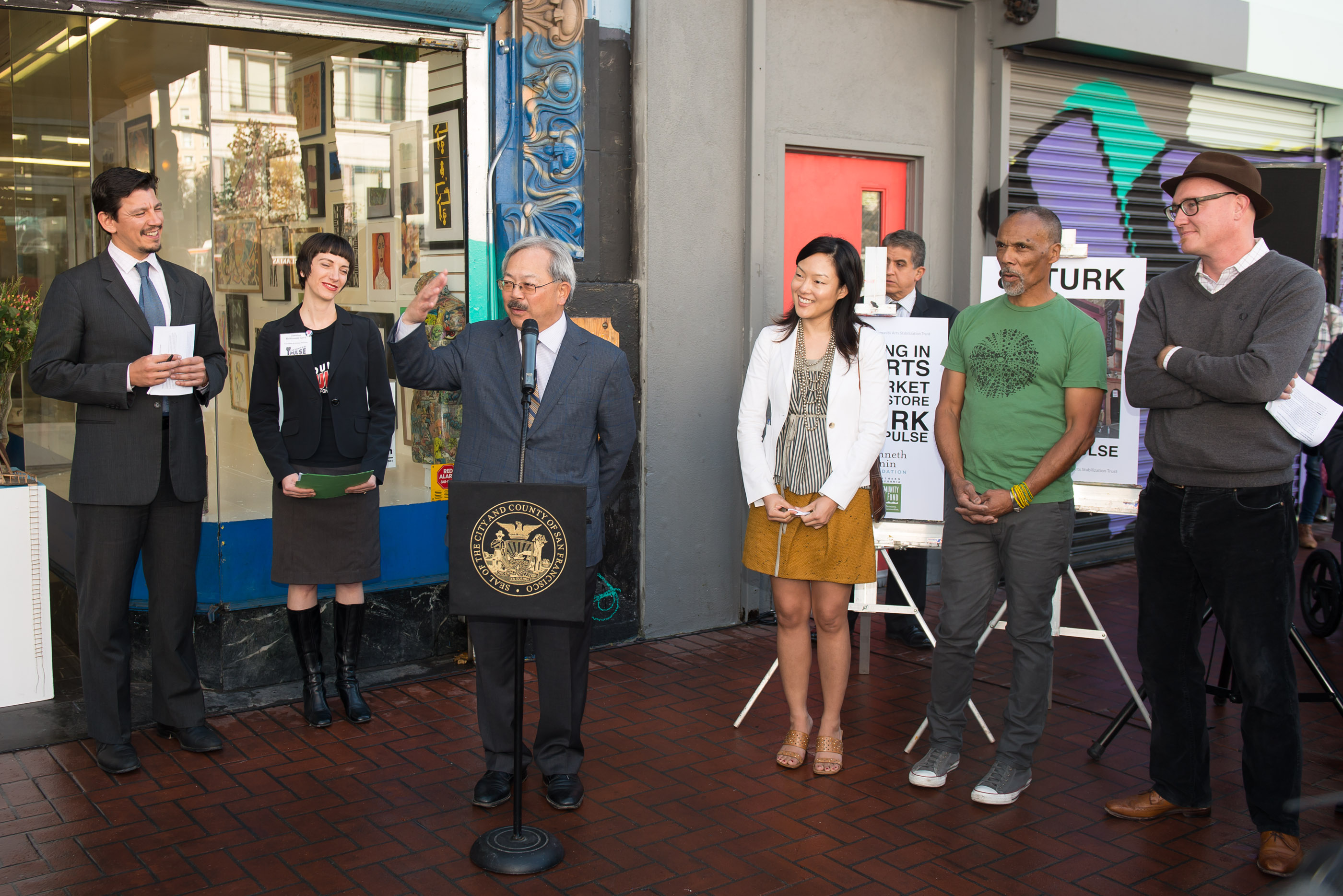 San Francisco Mayor Announces Community Arts Stabilization Trust (CAST)
