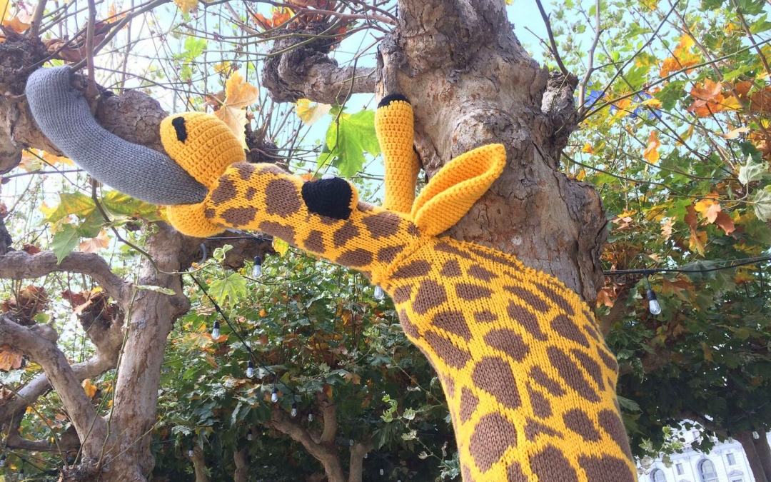 Why Giraffes are Appearing in San Francisco's Civic Center