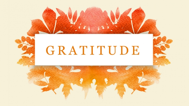 Gratitude, Risk-Takers